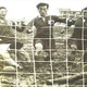 14日、光復(解放)74周年を迎え、京畿道高陽市で1954年の初の韓日戦の写真が展示された。東京明治神宮競技場でチェ・ジョンミン(左から2人目)が日本のGKとDFの間でゴールを決めている。 高陽=ビョン・ソング記者