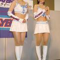 2010年の相方である加藤里奈ちゃん(写真左)とトークショー