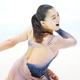 女子SPで演技をする坂本花織(代表撮影)