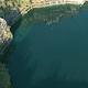 突然出現した茨城県「地図にない湖」の謎、元々は採石場だった