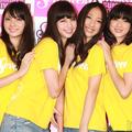 左から:ミスセブンティーン2011の新川優愛、中条あやみ、坂東希