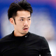 フィギュアスケートのグランプリ(GP)シリーズ、第6戦「NHK杯」から。  写真は開幕前日。公式練習にのぞむ、高橋大輔。  (撮影:フォート・キシモト)  [2012年11月22日、宮城・セキスイハイムスーパーアリーナ]