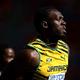男子200m・予選にて。  写真は、ジャマイカのウサイン・ボルト。  (撮影:フォート・キシモト)  [2013年8月16日、ルジニキ・スタジアム/モスクワ/ロシア]