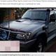 10歳〜14歳の4人が運転したSUV(画像は『Mirror 2019年7月15日付「Four kids take dad's stolen car on 600-MILE road trip after leaving goodbye note」(Image: Queensland Police)』のスクリーンショット)