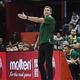 FIBAバスケットボール・ワールドカップ、グループL、フランス対リトアニア。リトアニアの指揮を執るダイニュス・アドマイティスHC(2019年9月7日撮影)。(c)WANG Zhao / AFP