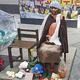 (写真=S-KOREA編集部)ソウル日本大使館前の少女像
