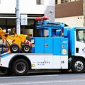JAFの救援車