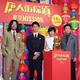 公開直前イベントに出席した(左から)浅野忠信、妻夫木聡、鈴木保奈美、三浦友和