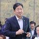 国会文化体育観光委員会に出席した朴良雨長官=21日、ソウル(聯合ニュース)