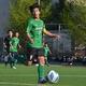 今季はキャプテンも務める篠田大輝。決定力のあるサイドバックとして躍動できるか。写真:松尾祐希