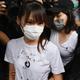 香港民主活動家の周庭氏が出所、「ゆっくり休みたい」 無許可集会扇動の罪で収監 - BBCニュース