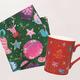 ゴディバ クリスマス コレクション「オリジナル マグカップ&ランチクロス」