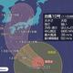 大型の台風10号 15日頃、強い勢力で西日本に上陸のおそれ