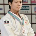 90kg級3位の西山大希 (2013年12月1日、撮影:フォート・キシモ