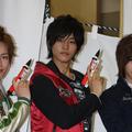 左より鈴木勝吾、松坂桃李、相葉弘樹