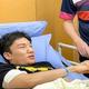 交通事故で負傷した桃田のもとには、マハティール首相夫人らマレーシア政府の要人が見舞いに駆けつけた
