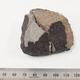 習志野隕石(仮称:回収された2つの破片を組み合わせた写真) 国立科学博物館