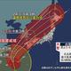 台風17号が沖縄に再接近 3連休は大荒れの天気に