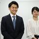今春にカンテレにアナウンサーとして入社する山本大貴さん(左)、舘山聖奈さん