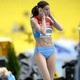 女子走高跳・予選にて。  写真は、ロシアのアンナ・チチェロワ。  (撮影:フォート・キシモト)  [2013年8月15日、ルジニキ・スタジアム/モスクワ/ロシア]