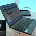富士通シーメンスQ2010は薄型のエグゼクティブ向けモバイルノー