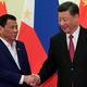 南シナ海問題で、中国とフィリピンが共同資源開発をめぐる駆け引きを展開/Kenzaburo Fukuhara/Kyodo News/Getty Images