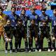 来年の東京五輪に向けて再びチームを強化するなでしこジャパン。カナダとの国際親善に臨む。(写真はフランス・ワールドカップのスコットランド戦のメンバー)(C)Getty Images