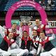 女子テニス国別対抗戦フェドカップ、ワールドグループ決勝、オーストラリア対フランス。優勝を喜ぶフランスの選手ら(2019年11月10日撮影)。(c)Tony Ashby / AFP