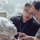 河南省洛陽市の龍門石窟の奉先寺北壁でこのほど、フルサイズ3Dプリントされた仏像の頭部が順調に、頭の欠けた等身仏に据え付けられた。仏像の頭部は断面にぴったり合い、仏像の正確な復元が実現された。