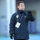 他校のマークを受けながらも、青森山田を3年連続の決勝に導いた黒田監督。(C)SOCCER DIGEST