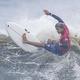 波を攻める五十嵐カノア(C)JMPA