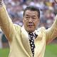 シーズン出塁率.532を記録した王貞治氏(左)、シーズン最多106盗塁を記録した福本豊氏【写真:Getty Images】