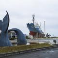 鯨の町、和歌山県の太地町。捕鯨船 第一京丸