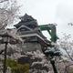 熊本城飯田丸五階櫓(4月9日)