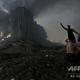 レバノンの首都ベイルートの港湾地区で起きた大爆発の現場(2020年8月4日撮影)。(c)STR / AFP