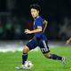 ミャンマー戦は81分に登場した久保。ワールドカップ予選の最年少出場記録を更新した。写真:金子拓弥(サッカーダイジェスト写真部)