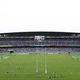 日本対スコットランド戦が行われた横浜国際総合競技場【写真:Getty Images】