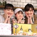 (左から)清原果耶、新津ちせ、倉科カナ