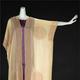 マリアノ・フォルチュニ「オペラジャケット」(1920年代 絹ゴーズにステンシル・プリント、トンボ玉)と「デルフォス」(1920年代 絹サテン・トンボ玉 神戸ファッション美術館)