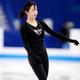 フィギュアスケートのグランプリ(GP)シリーズ、第6戦「NHK杯」から。  写真は開幕前日。公式練習にのぞむ、今井遥。 (撮影:フォート・キシモト)  [2012年11月22日、宮城・セキスイハイムスーパーアリーナ]