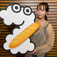 木南晴夏「ZIP!」3月の毎週水曜 選りすぐりのパン屋さんをレポート!