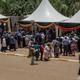 ウガンダの首都カンパラのワクチン接種会場(2021年3 月10日撮影、資料写真)。(c)Badru KATUMBA / AFP