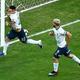 L・マルティネス(左)の先制ゴールで勢いに乗ったアルゼンチンは、ようやく今大会初勝利を掴んだ。 (C) Getty Images