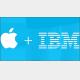 巨大企業AppleとIBMが業務提携、企業向けサービス業界に衝撃が走る