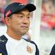 昨年9月までは名古屋で指揮を執っていた風間氏。写真:山崎賢人(サッカーダイジェスト写真部)