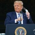 ドナルド・トランプ米大統領。米首都ワシントンにあるホワイトハ