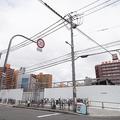 工事が進む星野リゾートのホテル「OMO7 大阪新今宮」(写真撮影