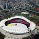 世界軍人運動会まもなく開幕 メイン会場の武漢体育センターを鳥瞰