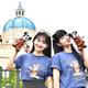 「ソアリン:ファンタスティック・フライト」外観/モデル:青山舞莉、寺沢美玲(C)モデルプレス(C)Disney