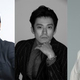 舞台『ジョン王』に出演する(左から)吉田鋼太郎、小栗旬、横田栄司